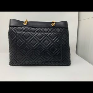 Tory burch Fleming quilted leather tote ladies bag